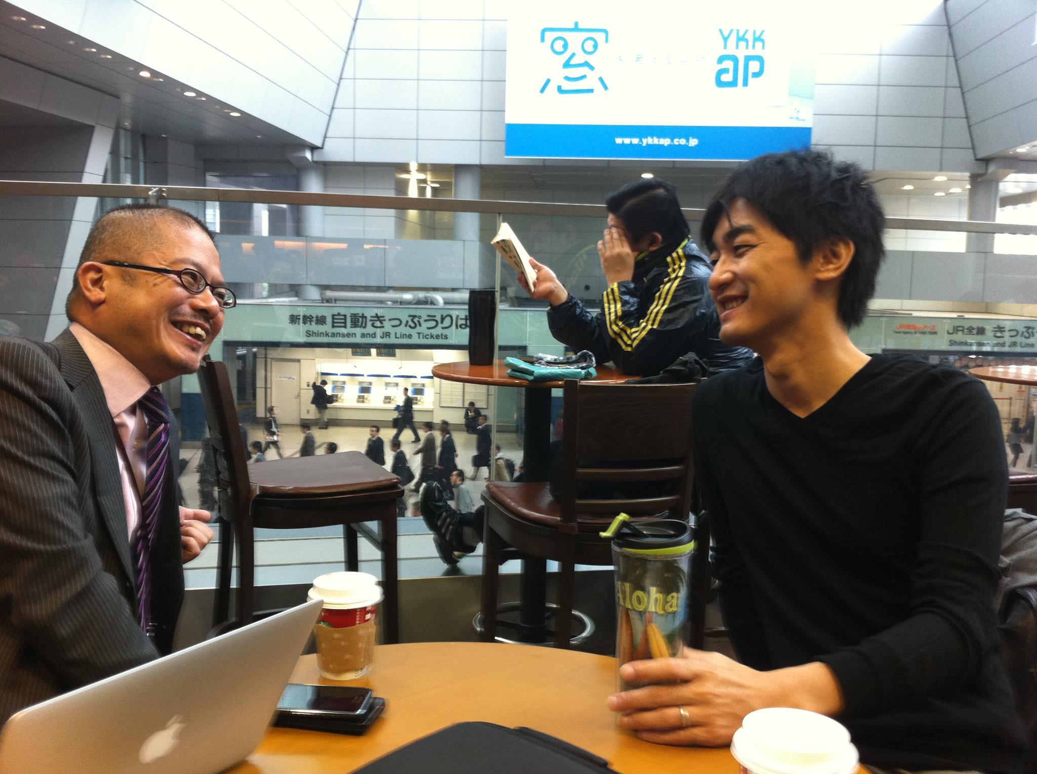 徳本さんと中島さん